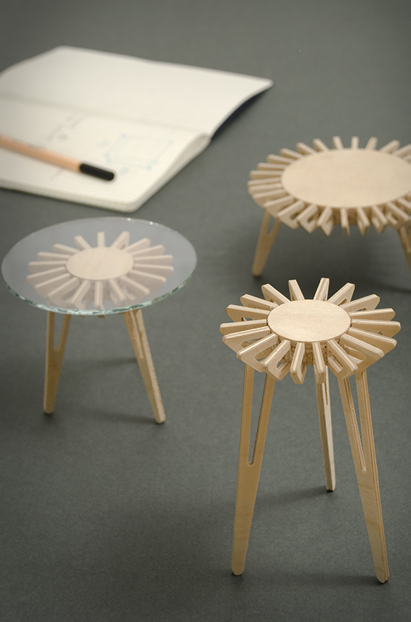 Eje - table. Antonio Gurrola for Pirwi